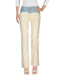 Dries Van Noten Jeans Ivory