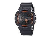 G Shock Neon Color Ga110 Gray Orange Watches Multi