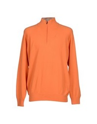Maria Di Ripabianca Turtlenecks Orange