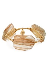 Women's Bourbon And Boweties Rutilated Quartz Bracelet