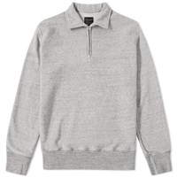 National Anthem Athletic Goods National Athletic Goods 1 4 Zip Campus Sweat Grey