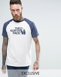 The North Face Raglan Sleeve T Shirt Exclusive Ceq2 11P White