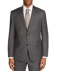 Michael Kors Sharkskin Classic Fit Suit Separate Sport Coat 100 Exclusive Gray