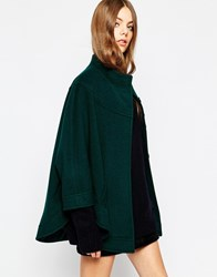 Helene Berman Green Concealed Front Cape Green