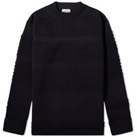 S.N.S. Herning Fisherman Crew Knit Blue
