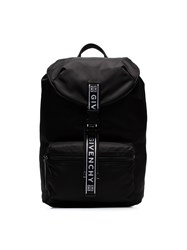 Givenchy Black And White 4 G Packaway Large Backpack