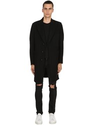 Palto Roberto Wool And Cashmere Coat Black