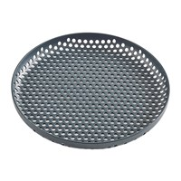 Hay Perforated Aluminium Tray Small Dark Green