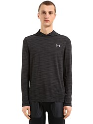 Under Armour Threadborne Seamless Hooded Sweatshirt Black