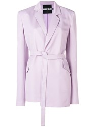 House Of Holland Tailored Blazer Pink And Purple