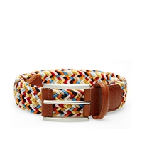 Andersons Anderson's Woven Textile Belt Multi