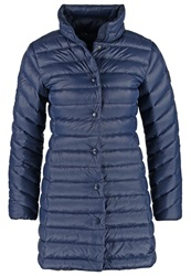 Gant Down Coat Evening Blue Dark Blue