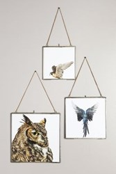 Anthropologie Hinged Hanging Picture Frame Light Grey