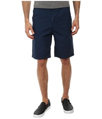 L R G Rc Marauder Ts Chino Walkshorts Navy Men's Shorts