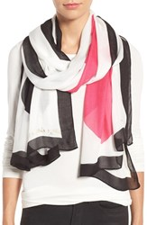 Kate Spade Women's New York Suit Of Cards Oblong Scarf