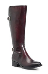 Born B Rn Gibb Boot Burgundy Leather
