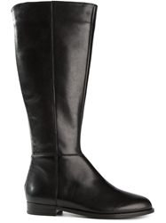 Anna Baiguera Back Zip Boots Black