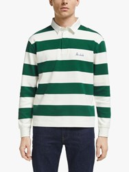 Maison Labiche The Dude Long Sleeve Heavy Rugby Jersey Imperial Green