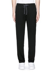 James Perse Vintage Fleece Sweatpants Black