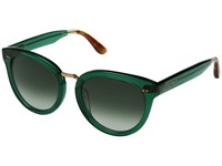 Toms Yvette Dark Green Fashion Sunglasses