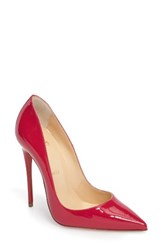 Christian Louboutin Women's 'So Kate' Pointy Toe Pump Pink Patent