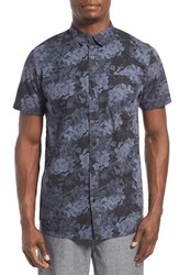 Men's Tavik 'Harmon' Short Sleeve Woven Shirt Floral Black