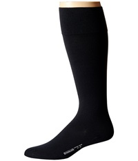 Wolford Cotton Velvet Knee Highs Black Men's Knee High Socks Shoes