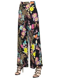 Etro Floral Printed Stretch Cady Pants