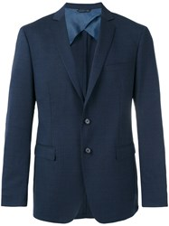 Tonello Flap Pockets Blazer Blue