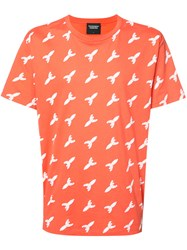 Christopher Raeburn Missile Print T Shirt Yellow Orange