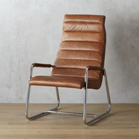 Cb2 Terreno Leather Chair
