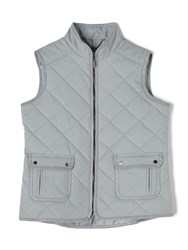Dash Quilted Gilet Grey