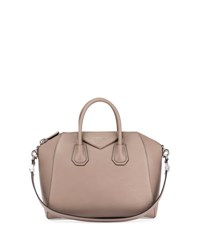 Givenchy Antigona Small Sugar Goatskin Satchel Bag Mastic