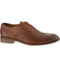Kurt Geiger Checker Oxford Brogues Tan