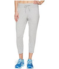Asics Asx Lux Capri Light Grey Heather Women's Workout Gray