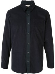 Cerruti 1881 Fitted Contrast Placket Shirt 60