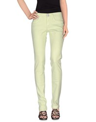 S.O.S By Orza Studio Denim Denim Trousers Women Acid Green