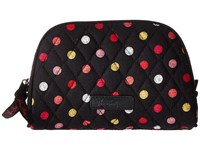 Vera Bradley Small Zip Cosmetic Havana Dots Luggage Black