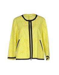 Blue Les Copains Coats And Jackets Jackets Women Yellow