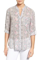 Kut From The Kloth Women's Swat Fame Jasmine Floral Print Blouse