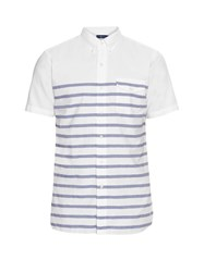 Polo Ralph Lauren Short Sleeved Striped Cotton Shirt