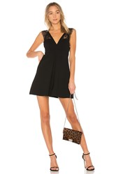 Bcbgeneration Dress With Lace Trim In Black