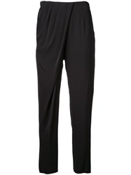 Aula Slim Fit Trousers Black