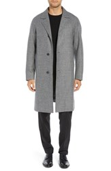 Sanyo Wool Top Coat Grey