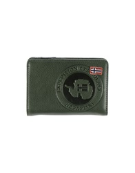 Napapijri Wallets Military Green