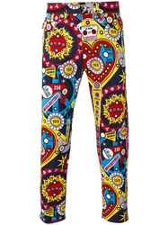 Love Moschino Graphic Print Jeans