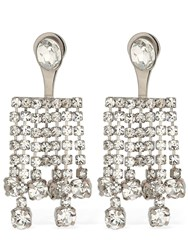 Ca And Lou Clara All Over Crystal Earrings
