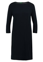United Colors Of Benetton Jumper Dress Navy Dark Blue