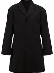 08Sircus Single Breasted Coat Black