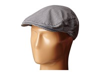 Bailey Of Hollywood Marken Black White Gingham Caps Multi